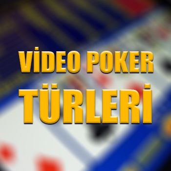 Video poker türleri
